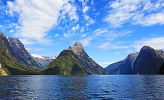 Milford Sound, Fiordland National Park, New Zealand (Photo Bug TA) Tags: newzealand mountains digital canon photography image picture photograph kayaking southisland 5d fullframe milfordsound infocus fiordlandnationalpark highquality canoneos5dmarkii