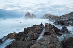 From Chaos To Eternity (MANUELup) Tags: ocean longexposure seascape landscape rocks chaos cloudy eternity cantabria liencres arnía
