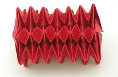 Fujimoto Star spring (B13) Side (Pliages et vagabondages) Tags: star origami fujimoto