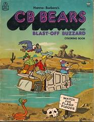 CB Bears Coloring Book (Rand McNally 1978) (Donald Deveau) Tags: bears cartoon tvshow coloringbook cbradio hannabarbera cbbears