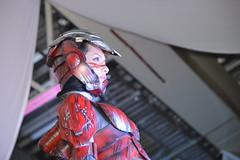 Angela bermudez (davidpuma) Tags: rescue beauty costume mujer ironman armor disfraz pasarela cosplayer belleza armadura nikond3200 expotnt diciembre2014 exporerforma