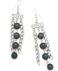 5th Avenue Silver Earrings P5220-3