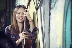 Girl & Guitar (KH.AZ Photography) Tags: portrait playing amanda girl beautiful smile fun photography nikon guitar awesome human malaysia kuala kl interest mariam lumpur photooftheday picoftheday khairil d7100 azuar tagsforlikes