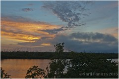 Sunset 30 Dec 2014 (Sara Panizza) Tags: sunset water 1224mm waterscape