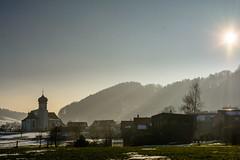 der Winter wird verjagt - snow is melting (bischofbrigitte) Tags: schnee sun snow schweiz switzerland suisse sonne grub meltingsnow schneeschmelze abendstimmungimfrhling eveningmoodinspring