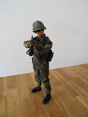 "U.S army ERDL camo mid""70 (greedo06) Tags: army us action camo figure 16 erdl"