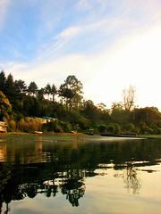 Isla tenglo,Puerto Montt,Chile (Gabriel mdp) Tags: chile naturaleza verde water puerto canal agua arboles sur montt isla reflejos contrastes tranquilidad tenglo