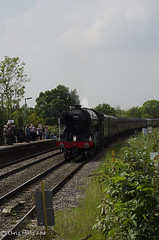 CJM_3197 (cjmillsnun@btinternet.com) Tags: heritage trains hampshire steam locomotive flyingscotsman steamlocomotive romsey nikond7000