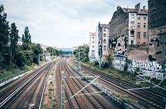 leading lines (Urban-Outdoor Photography) Tags: city travel urban berlin architecture train cityscape tracks railway line crime johnny sbahn bts railwaytracks bvg filmen trainsstation 500px ifttt