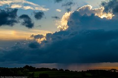 May 28 2016 Storms (Dan's Storm Photos & Photography) Tags: sunset sky nature weather clouds skyscape landscape landscapes sunsets thunderstorm skyscapes convection anvil thunderstorms cumulonimbus updraft anvils updrafts