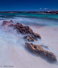 Maloneys Beach (vahraz) Tags: ocean longexposure blue sky green nature landscape colorful ngc nsw austarlia ndfilters canon6d
