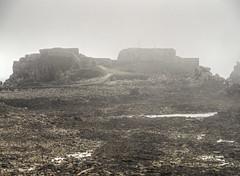Fort Clonque in the fog, Alderney (neilalderney123) Tags: weather fog architecture olympus alderney omd landmarktrust cloque 2016neilhoward