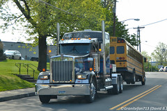 Kenworth W900L Tow Truck (Trucks, Buses, & Trains by granitefan713) Tags: towtruck sleeper kenworth wrecker recoverytruck kenworthtruck w900l kenworthw900l sleepertruck