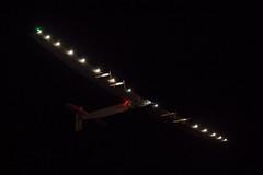 Solar Impulse Si2 departs Goodyear Airport (Pyrat Wesly) Tags: night canon 6d solarpowered tamron2875mmf28 solarimpulse si2 canonef80200mmf28l goodyearairport solarimpulse2 futureisclean