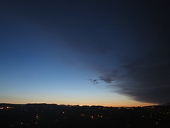Northern sky at 10:30pm (waldopepper) Tags: sunset haworth