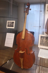Fiddles, Violas, etc. [Necked Box Lutes played with a Bow or Beaters] 56: Double Bass (at Royal Academy of Music museum) (KM's Live Music shots) Tags: musicalinstrument doublebass chordophone hornbostelsachs royalacademyofmusicmuseum
