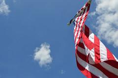 USA to the Sky (Sotosoroto) Tags: washington hiking flag tigermountain poopoopoint dayhike chiricotrail
