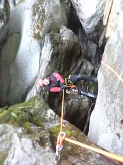 P1120422 (Mountain Sports Alpinschule) Tags: blue mountain sports lagoon canyoning zillertal zemmschlucht alpinschule