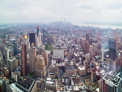 New York (David Martnez Asuar) Tags: new york city sky panorama usa newyork america canon eos state manhattan panoramica empire empirestate wallstreet altura 6d eeuu manha