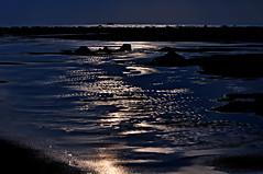 DSC_0011  Ebb Tide (tsuping.liu) Tags: ocean sunset sea reflection water landscape outdoor serene webbtide