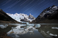 The Coyote Wolfdog Fox (Jay Daley) Tags: patagonia mountain southamerica argentina nikon astro startrail cerrotorre d810