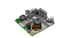 Section Industrial (RedRoofArt) Tags: lego moc mini micro pico pica city building industrial