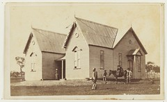 Primary school, West Maitland (?), ca. 1881-1884 (maitland.city library) Tags: maitland newsouthwales state library primary school west conrad joseph weipel schools