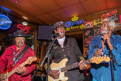 Guitar Shorty & The Chambers Bros. (MarcCooper_1950) Tags: show portrait musician music mill hat rock beard glasses nikon brothers guitar live profile blues joe maui cadillac sugar soul singer vocalist willie zack saloon chambers rb guitarist lightroom d810 marccooper