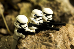 Storm troopers sniper setup (jezbags) Tags: white storm trooper macro canon star starwars lego 100mm stormtrooper wars macrophotography 60d canon60d macrolego macrodreams