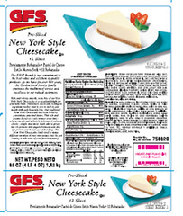 RECALLED  Cheesecakes (The U.S. Food and Drug Administration) Tags: gfs thefatherstable foodsafety allergen