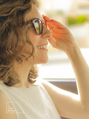 Summer is here (Miguel A. Garc) Tags: summer woman car sunglasses lightsandshadows driving nikkor50mm nikkor5014 womanportrait nikond600 alookbeyond