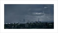 Apocalypse: London (Nigel Morton) Tags: london england britain skyline landscape lightning storm clouds shard muswellhill crouchend rain summer brexit
