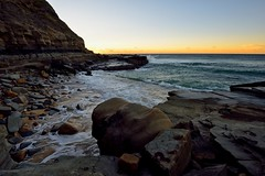 Rock Details (Paul Hollins) Tags: ocean seascape newcastle rocks australia newsouthwales aus nudistbeach watermovement cookshill nikond750