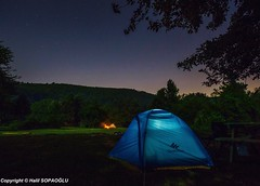 Under the Stars (Halil Sopaoğlu HN I Photography) Tags: halil2016 canon1635mmf28liiusm canon flickr erikliyaylası nature longexposure camping stars night
