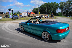 Are U 9ted? (> Mr.D Photography) Tags: car nikon sigma event u audi 80 tuning cabrio stance 18200mmf3563 are d5000 9ted