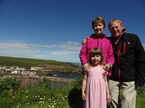 At Collieston on a sunny day (4)