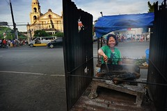 Rice Cake Vendor (chandlerbong) Tags: sonynex6 sony a6000 mirrorless compact camera system streetphotography portraits documentaries culture iloilo city philippines