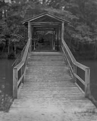 Old Bridge At Caraway 2 (Chris Ehrlich Photography) Tags: old bridge camp bw lake boys photography nc rustic sophia cde caraway