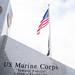 U.S. Marine Corps Memorial - American flag