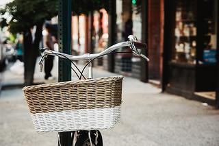 East Village parked bike