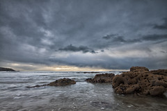 Stormy evening at Inch Beach (Paul_Maher) Tags: ireland sea seascape beach water cork soe beachphotography platinumheartaward rememberthatmomentlevel4 rememberthatmomentlevel1 rememberthatmomentlevel2 rememberthatmomentlevel3 aegrouplevel1