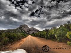 Bretagne and Gordon's Rock (Jan-Krux Photography) Tags: travel mountains clouds landscape southafrica jeep 4x4 natur dramatic wolken olympus berge cherokee landschaft westerncape paarl suedafrika dramatisch reservat westkap gordonsrock bretagnerock paarlbergnaturereserve