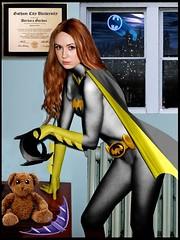Karen Gillan as Batgirl (DarkJediKnight) Tags: movie poster pond amy who dr humor fake barbara doctor gordon batman parody batgirl spoof motivational karengillan