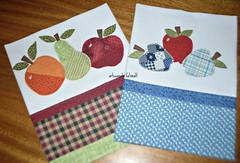 maçãs-panos de prato (fatimalt) Tags: frutas prato cozinha maças panosdecopa patchaplique artesanatofatimalt