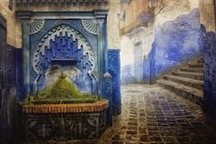 Tercera Version Chefchaoen (Zu Sanchez) Tags: africa travel blue canon landscape morocco maroc chaouen chefchaouen marruecos urbanlandscape phototravel xaouen xauen chaouene canoneos1000d zsnchez zusanchez