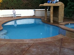 "Newly built pool with Artic Gray color plaster • <a style=""font-size:0.8em;"" href=""http://www.flickr.com/photos/71548009@N02/15701047059/"" target=""_blank"">View on Flickr</a>"