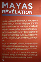 2014.11.22.002 PARIS - Expo les Mayas (alainmichot93 (Bonjour  tous)) Tags: paris france seine guatemala belize exposition mexique iledefrance 2014 museduquaibranly amriquecentrale paris7mearrondissement lesmayas