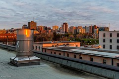 Roof Top Shot (Kvse) Tags: city roof sunset rooftop up clouds buildings nikon cityscape slow ottawa x handheld gloaming 160 d610