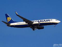 Ryanair --- Boeing 737-800 --- EI-ENR (Drinu C) Tags: plane aircraft sony boeing ryanair dsc 737 mla lmml eienr hx100v adrianciliaphotography