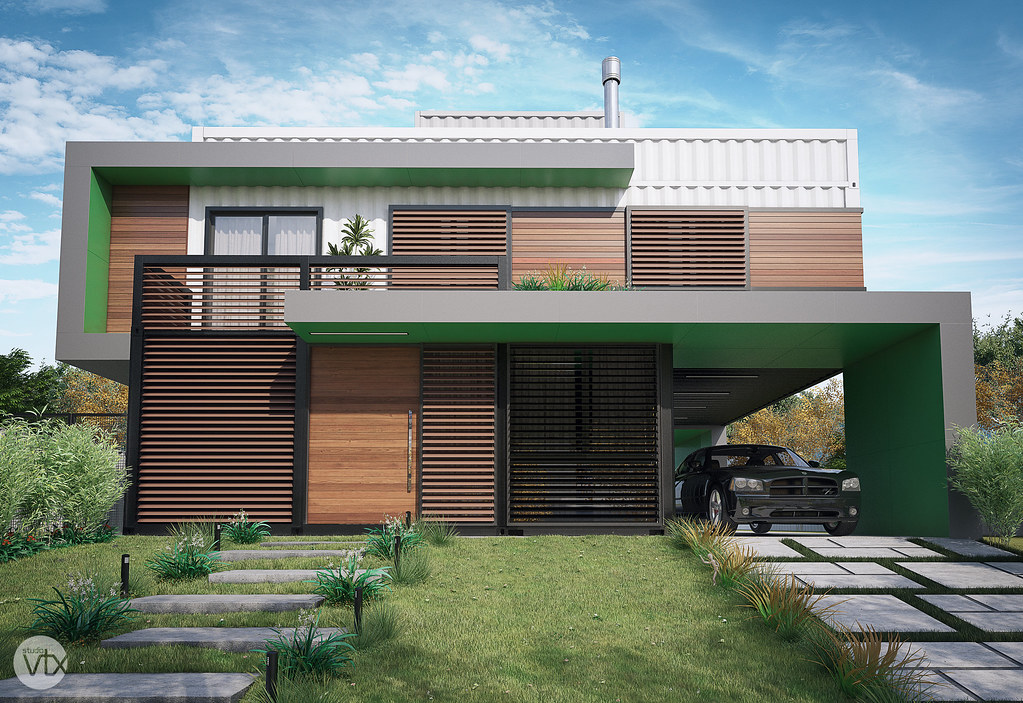 The world 39 s best photos of arquitetura and container for Container casa